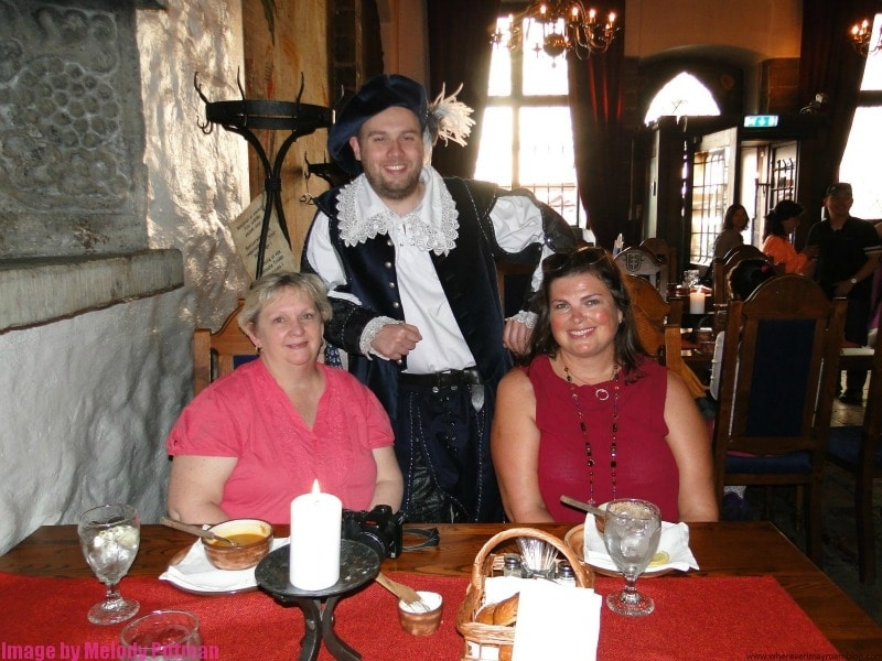 What a blast to dine in the Old Town Tallinn medieval themed restaurants.