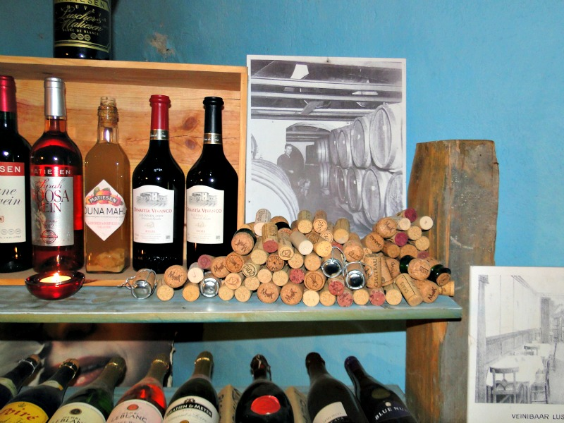 Luscher and Matiesen Wine Museum collection in Estonia.