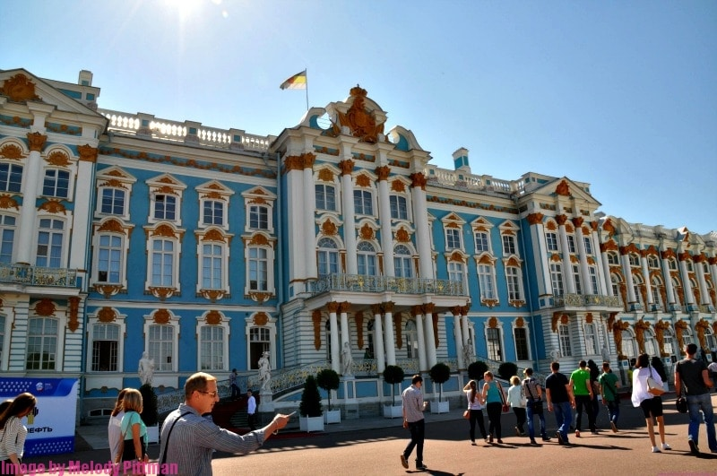 Visiting Catherine's Palace in Pushkin, Russia was one of my bucket list items.