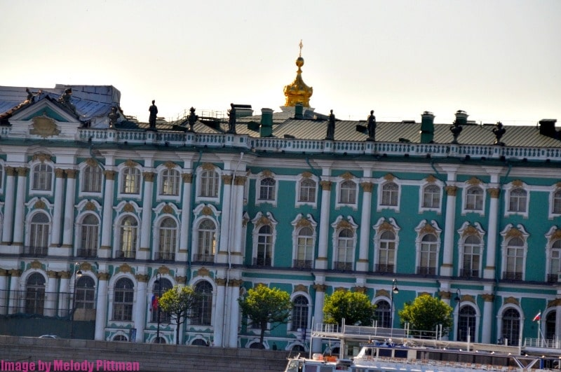 The Hermitage Museum is absolutely enormous!