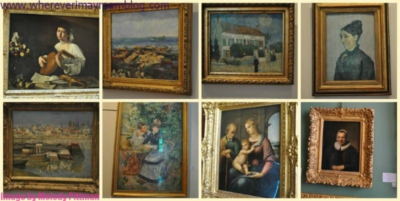 Classic paintings at The Hermitage, St. Petersburg.