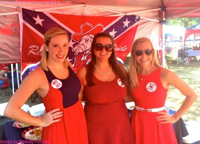 ole miss tailgate party