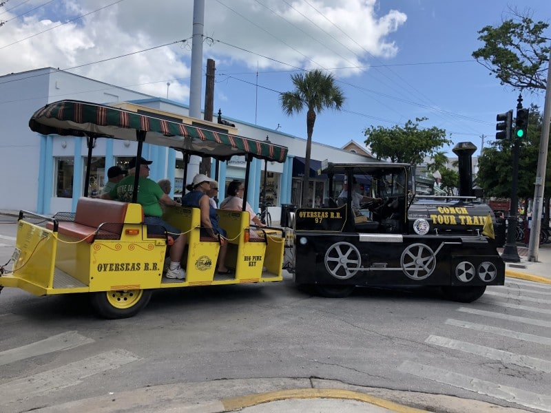 world famous key west conch train