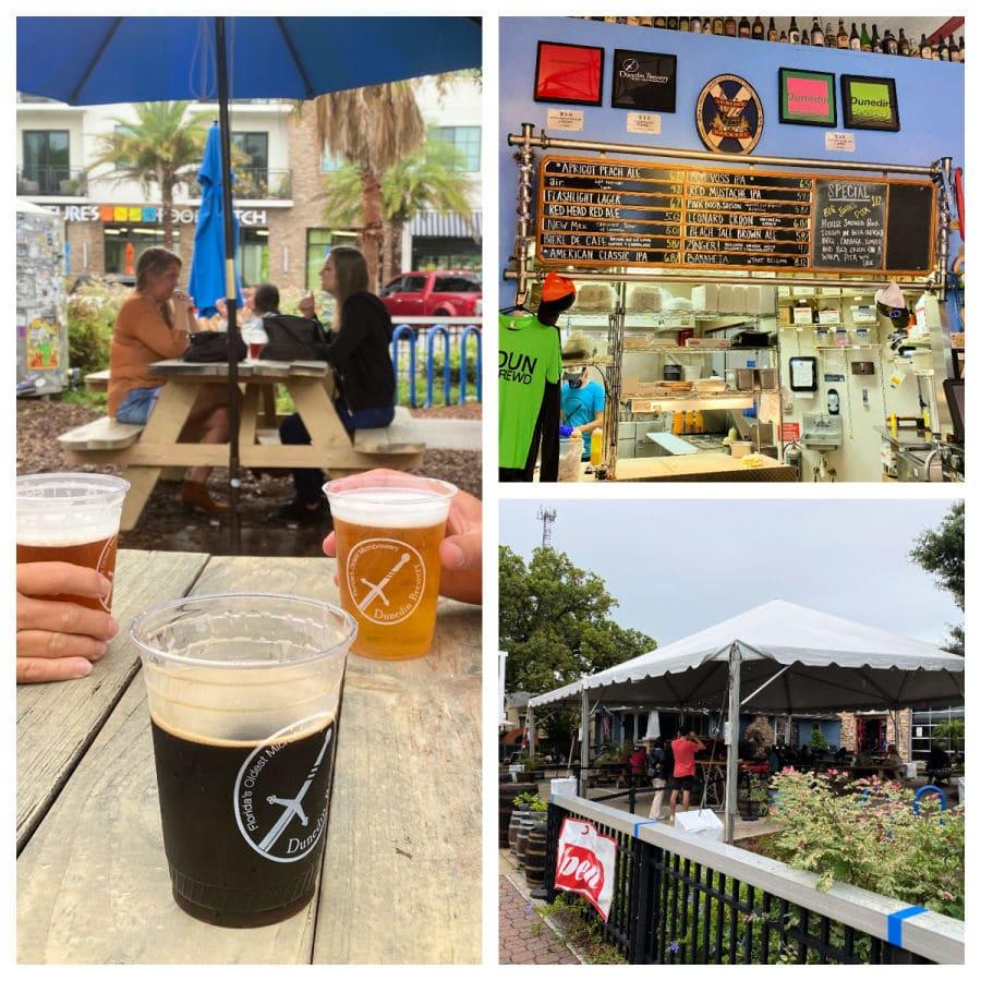Dunedin brewery beer garden