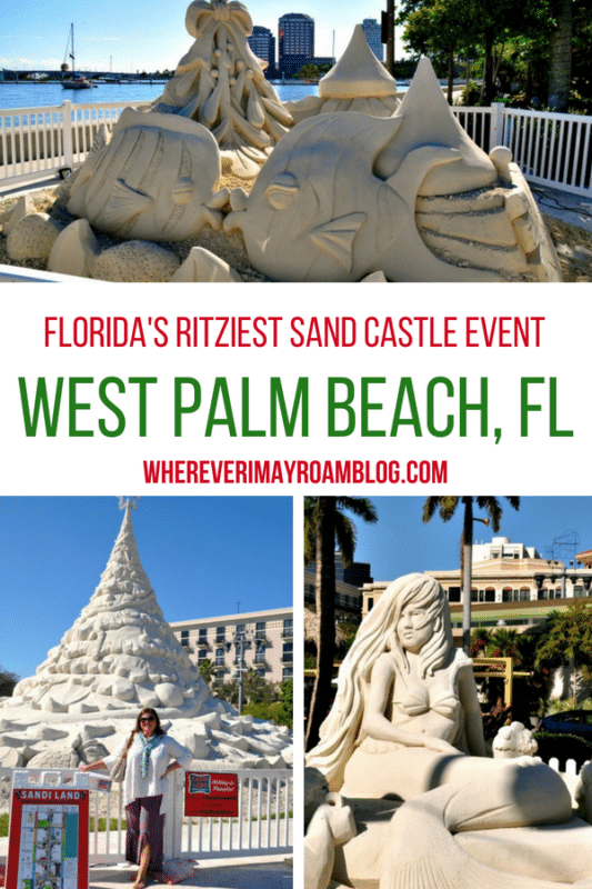 The Sandi Land Christmas holiday sand sculptures event is great fun for all ages.