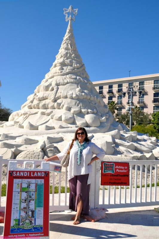 The Sandi Land holiday sand sculptures event is great Christmas fun for all ages.