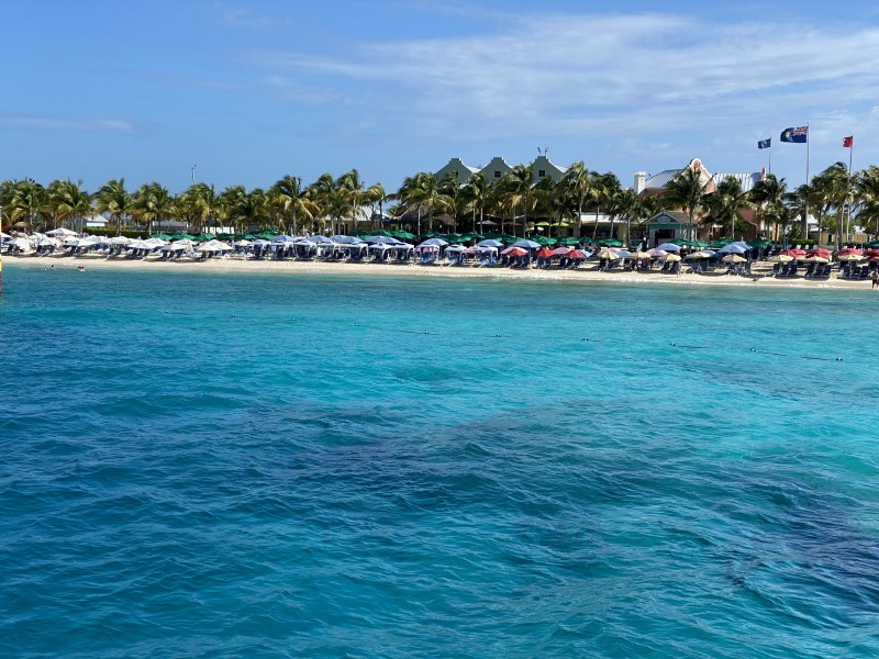 turquoise waters of Grand Turk