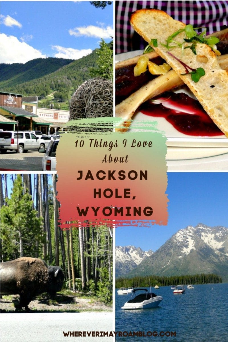 Jackson hole Wyoming pin