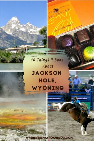 things I love about Jackson hole pin