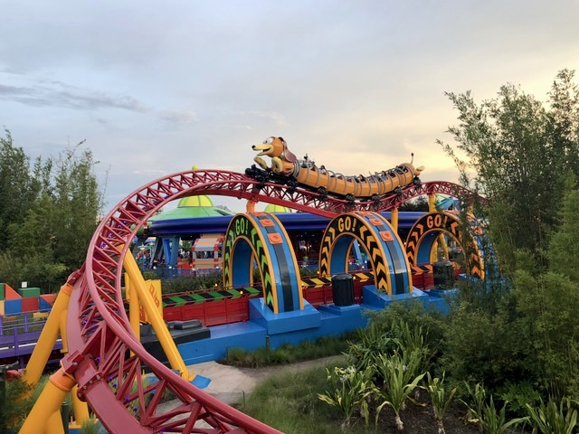Slinky Dog Dash ride Hollywood Studios