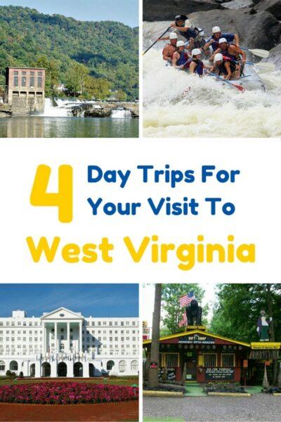day trips around West Virginia
