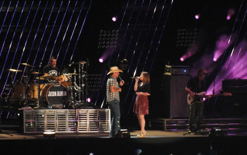 Attending the CMA Fest in Nashville gives you plenty of opportunities to meet county music stars like Jason Aldean.