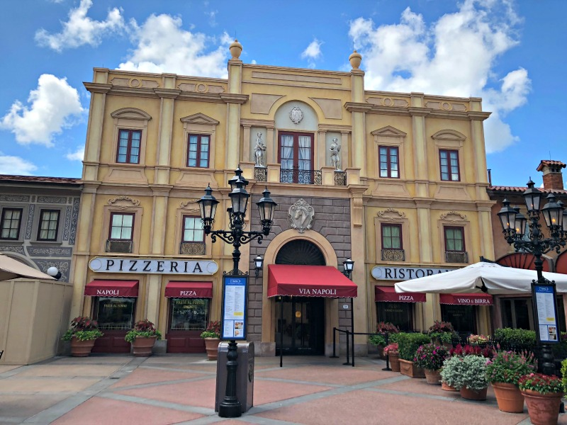 Via Napoli is my favorite restaurant at Walt Disney World's Epcot.