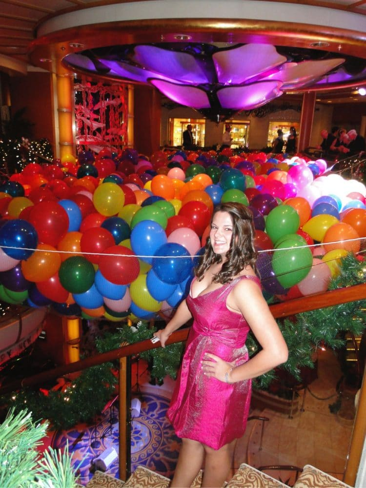 New Years eve part on cruise ship