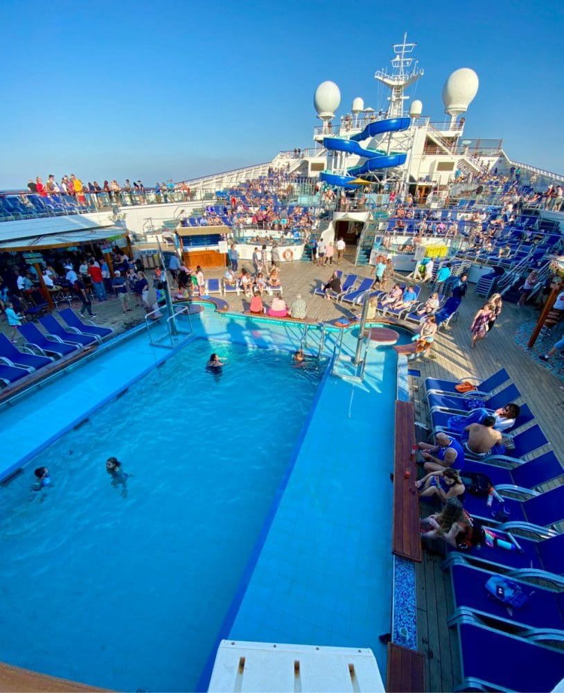 carnival cruise ship pool