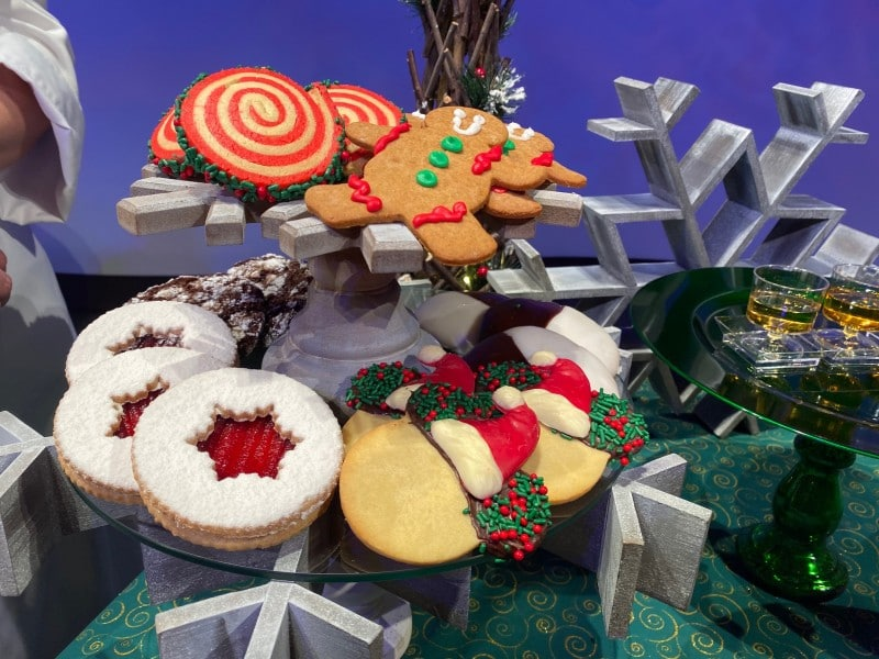 holiday cookie stroll Epcot
