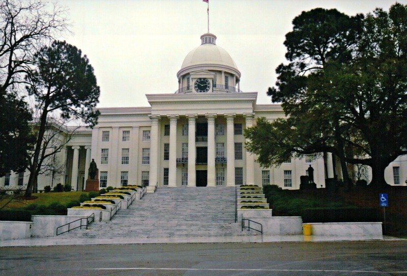 The Alabama State Capitol is one of the best places to visit in Alabama