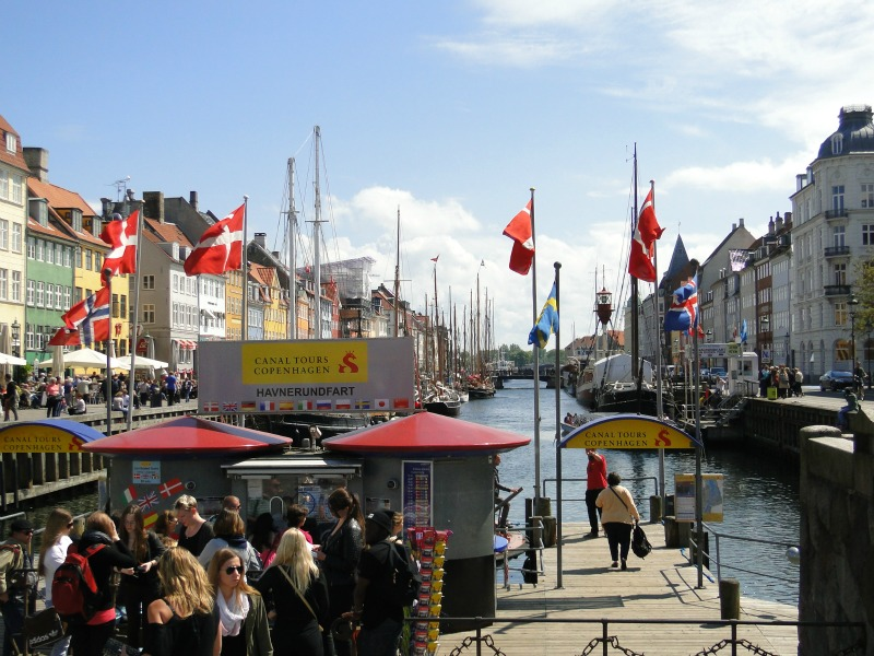 Exploring Copenhagen's Nyhavn neighborhood is my favorite.