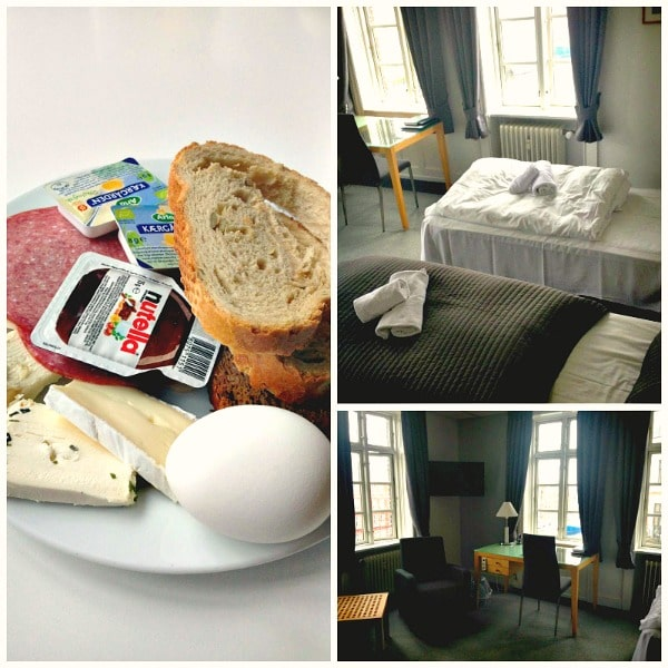 hotel Bethel Copenhagen room and breakfast