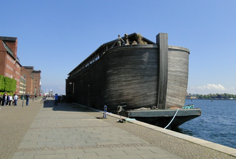 Full scale replica of Noah's Ark in Copenhagen.