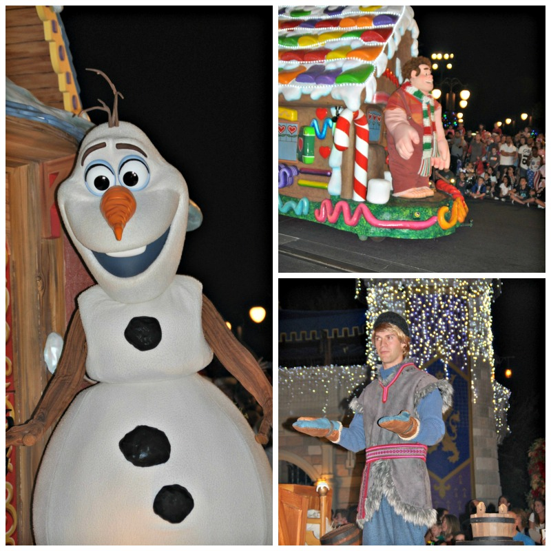 parade images Walt Disney World Christmas