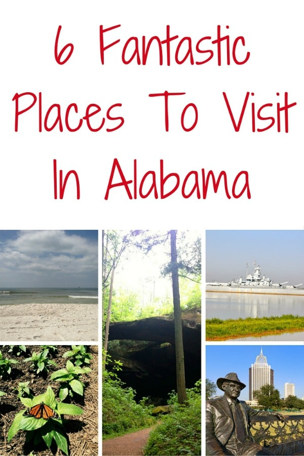 Fantastic places to visit In AL