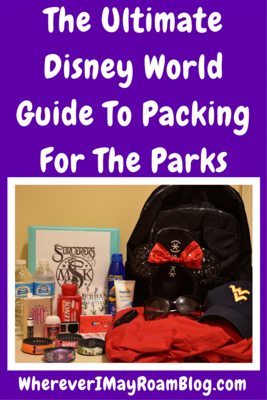 ultimate disney world guide to packing for the parks