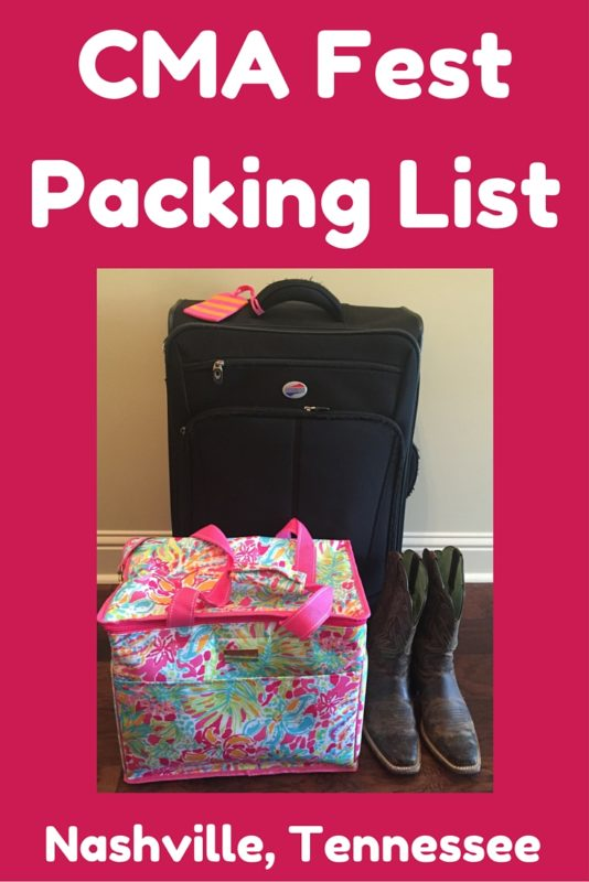 Our CMA Fest packing list includes everything you will need for four days of awesomeness at this iconic music extravaganza!