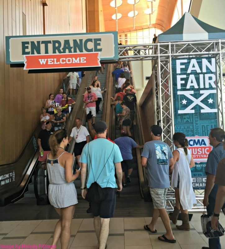 fan fair entrance Nashville