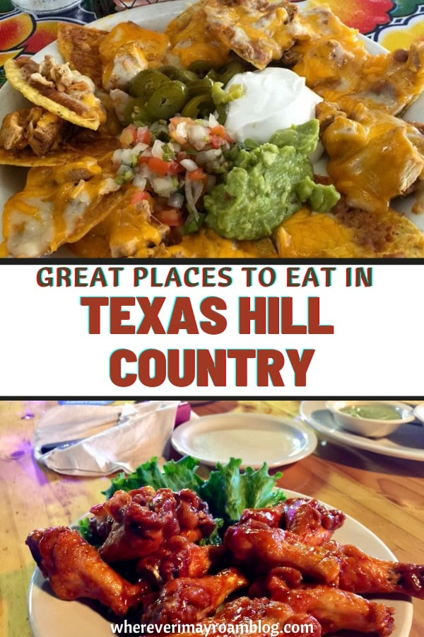 Great eats in TX Hill Country