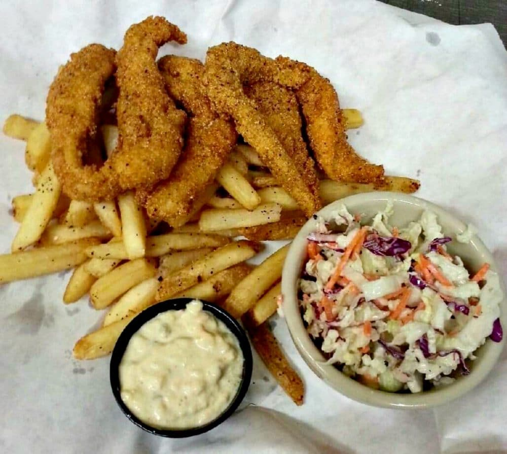 chicken fingers with fries and slaw canyon lake tx