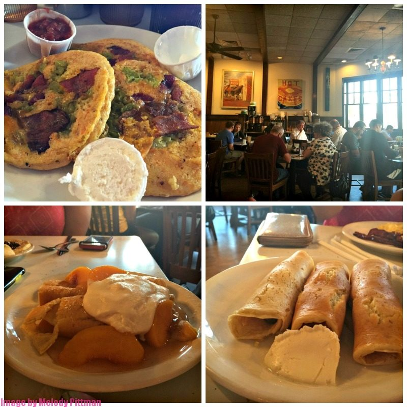 Delicious places to dine in Nashville, Tennessee, such as Pancake Pantry.