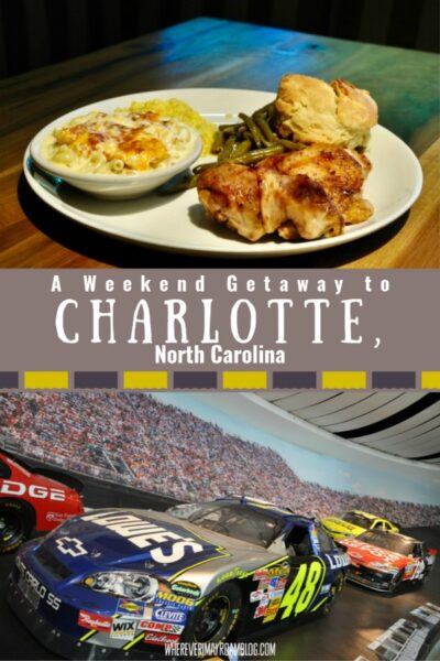 weekend guide to Charlotte nc