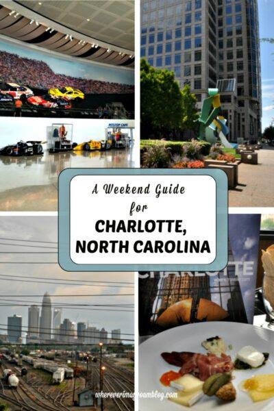 weekend in charlotte north carolina