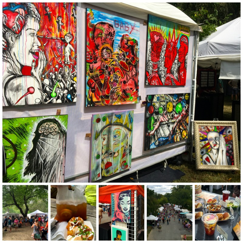 Attending the Brandywine Festival of the Arts is one of the cool things to do in Delaware.