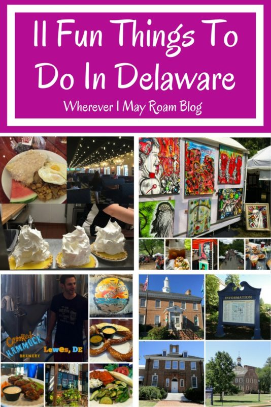 Here are eleven fun things to do in Delaware, the First State.