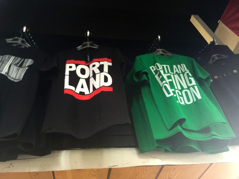 T-shirts to Keep Portland Weird.