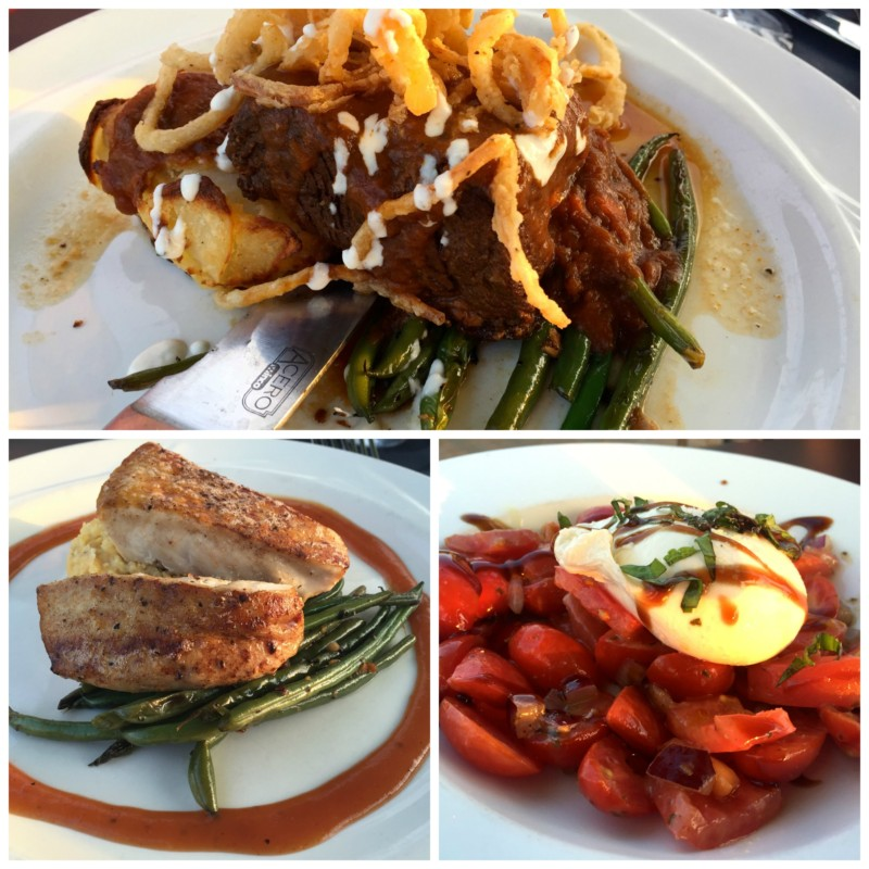 Yummy meal from Bridges Restaurant on Kent Narrows, Queen Anne's County.