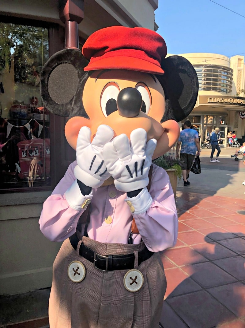 Mickey Mouse at California Adventure