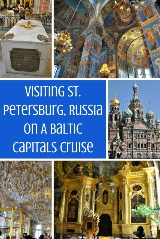Check out my awesome Baltic Capitals cruise to Russia.