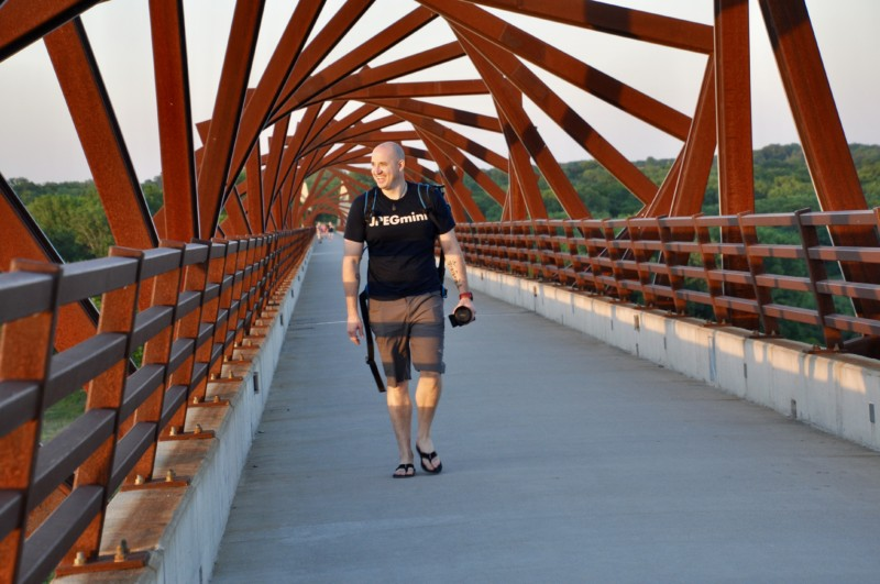 One of the things you must see and do in Iowa is visit the High Trestle Trail and Bridge in Central Iowa.