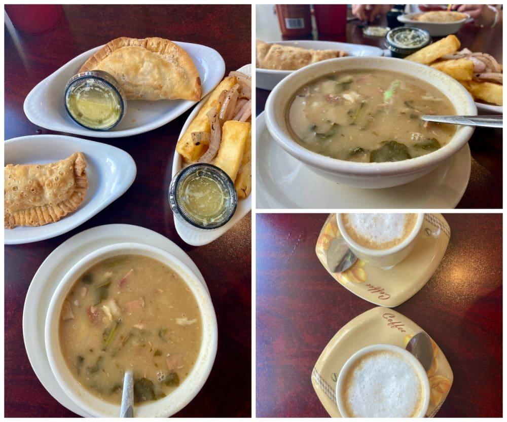 cuban food and cortadito