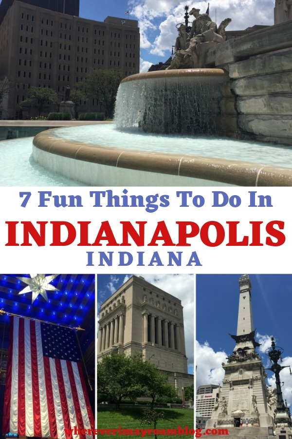 fun things to do in Indianapolis pin