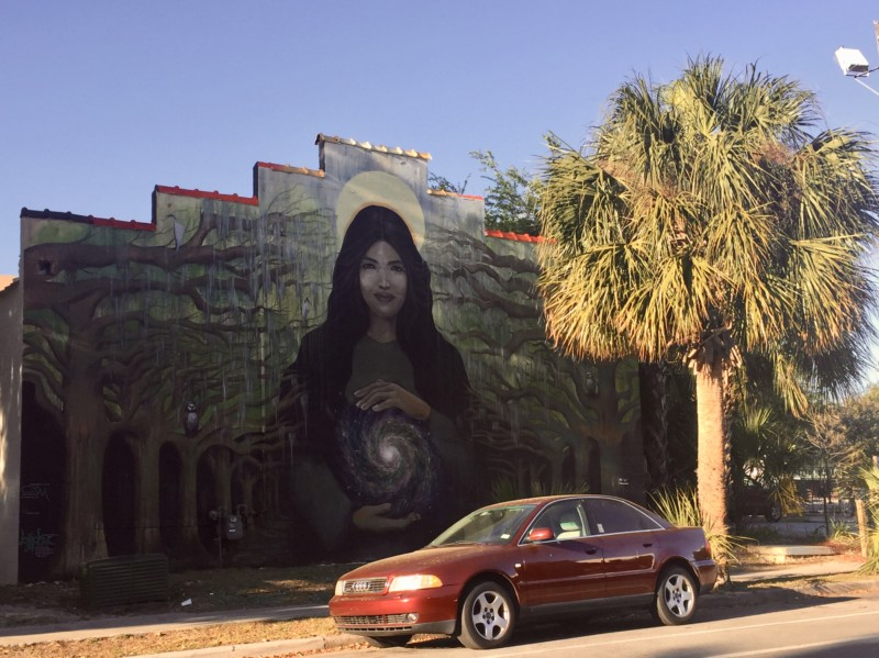 The 352 Walls is an art engagement in Gainesville, Florida with amazing hand-painted murals.