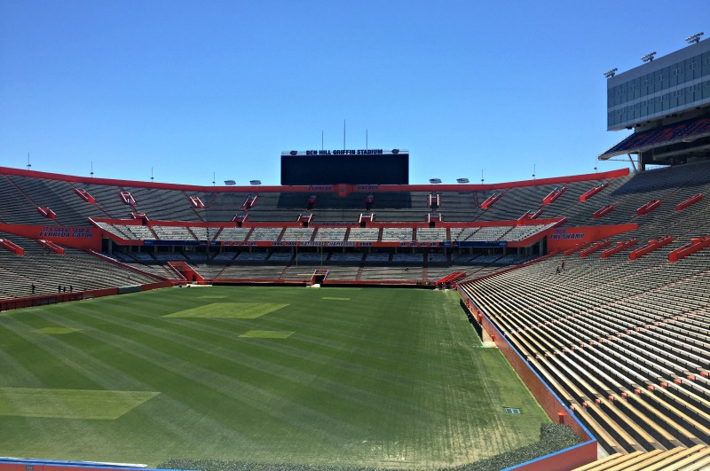 Traveling to Gainesville, Florida must include a visit to the University of Florida.
