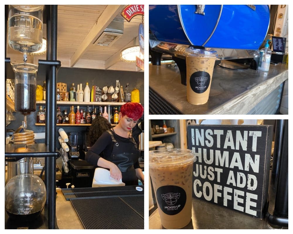 jacked up coffee bar cold brew