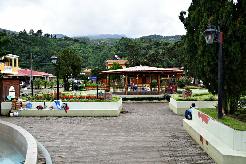 Pictures of Boquete: Downtown Square
