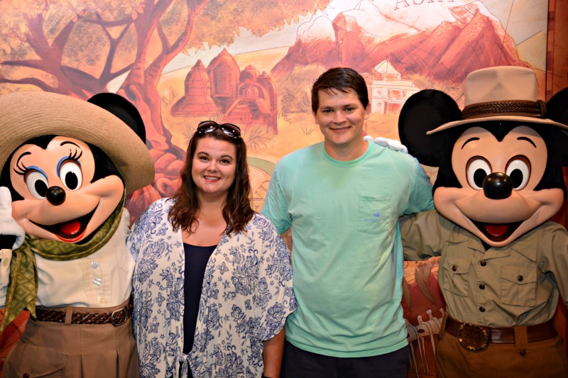 Meeting safari Minnie and Mickey is just one of the things to do at Walt Disney World.