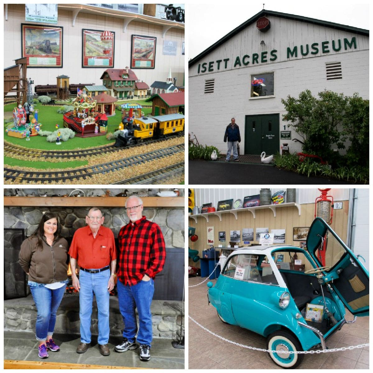 Huntingdon, Pennsylvania has a unique attraction called Isett Acres Museum, which houses millions of antiquities and memorabilia.