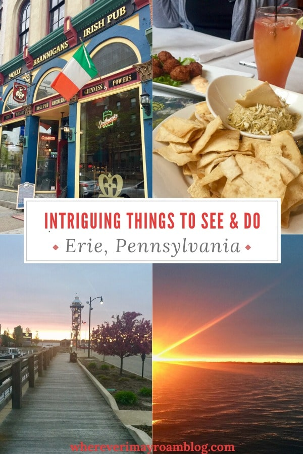 things to see and do in Erie